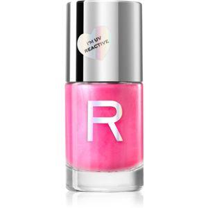 Makeup Revolution Neon Glow neónový lak na nechty odtieň Pink Vibes 10 ml