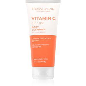 Revolution Skincare Body Vitamin C (Glow) čistiaci sprchový gél 200 ml