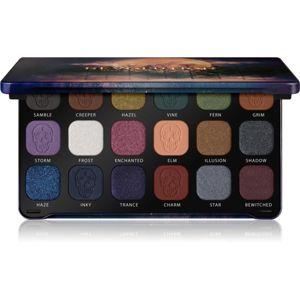 Makeup Revolution Forever Flawless paletka očných tieňov odtieň Enchanted 18 x 1,1 g