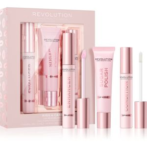 Makeup Revolution Kiss & Care sada na pery