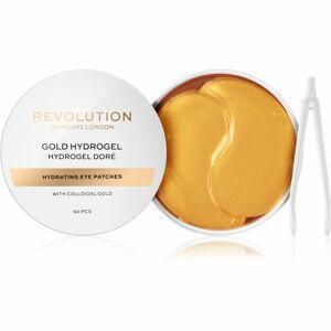 Revolution Skincare Gold Hydrogel hydrogélová maska na očné okolie so zlatom 60 ks