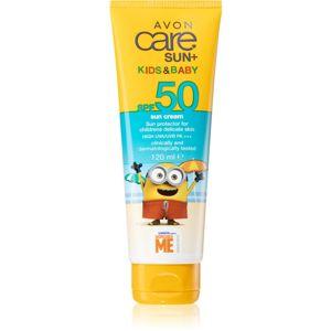 Avon Care Sun + Kids & Baby ochranný krém pre deti SPF 50 120 ml