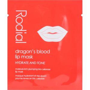 Rodial Dragon's Blood hydratačná maska na pery 8 ks