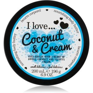 I love... Coconut & Cream telové maslo 200 ml