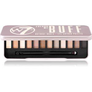 W7 Cosmetics Colour Me In the Buff paletka očných tieňov 15,6 g