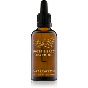 Captain Fawcett Ricki Hall´s olej na bradu 50 ml