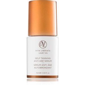 Vita Liberata Skin Care samoopaľovacie sérum na tvár proti príznakom s