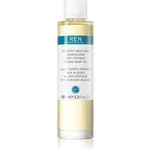 REN Atlantic Kelp And Microalgae Anti-Fatigue Toning Body Oil spevňujúci telový olej s hydratačným účinkom 100 ml