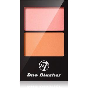 W7 Cosmetics Duo Blusher lícenka so štetčekom odtieň 04 7 g