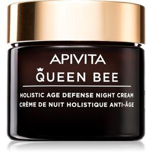 Apivita Queen Bee spevňujúci nočný krém proti vráskam proti starnutiu pleti 50 ml