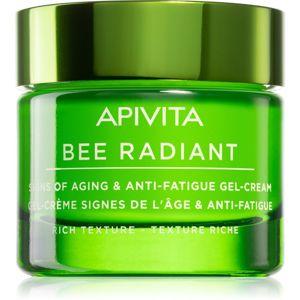 Apivita Bee Radiant extra výživný pleťový krém proti starnutiu a na spevnenie pleti 50 ml
