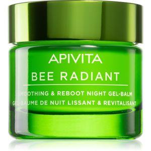 Apivita Bee Radiant nočný detoxikačný a vyhladzujúci gél-balzam 50 ml