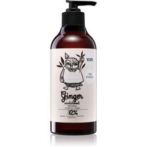 Yope Ginger & Sandalwood prírodné tekuté mydlo na ruky 500 ml