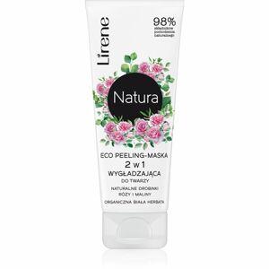 Lirene Natura - Face Care rozjasňujúca pleťová peelingová maska 75 ml