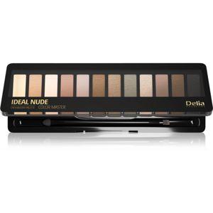 Delia Cosmetics Ideal Nude Color Master paletka očných tieňov odtieň 02 18 g