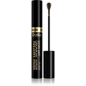 Delia Cosmetics Brow Mascara Shape Master riasenka na obočie odtieň 01 Light Brown 11 ml