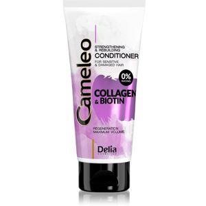 Delia Cosmetics Cameleo Collagen & Biotin posilňujúci kondicionér pre poškodené a krehké vlasy 200 ml