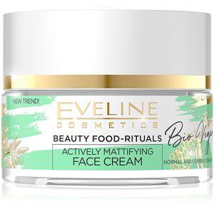 Eveline Cosmetics Bio Vegan normalizačný a zmatňujúci denný a nočný krém 50 ml
