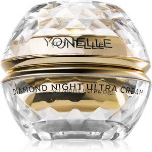 Yonelle Diamond Ultra výživný nočný krém proti vráskam v oblasti čela, očí a úst 50 ml