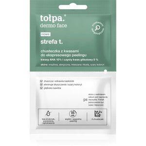 Tołpa Dermo Face T-Zone exfoliačné obrúsky na tvár 2 ks