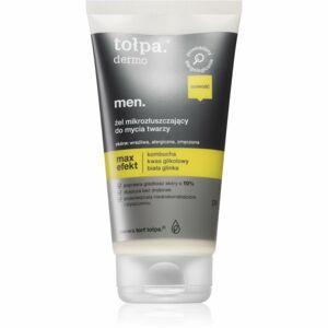 Tołpa Dermo Men Max Effect exfoliačný čistiaci gél pre mužov 150 ml