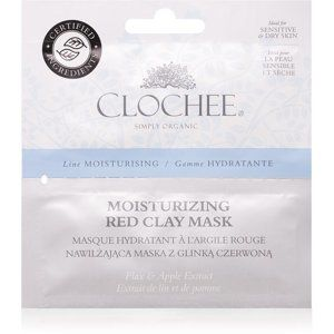 Clochee Moisturising ílová maska s hydratačným účinkom 2 x 6 ml
