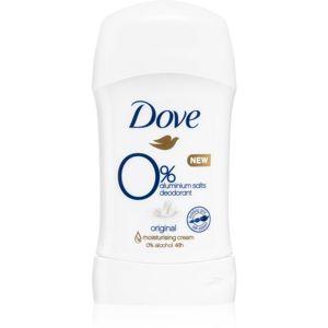 Dove Original tuhý deodorant bez obsahu hliníkových solí 40 ml
