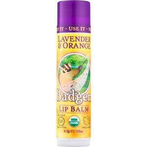 Badger Classic Lavender & Orange balzam na pery