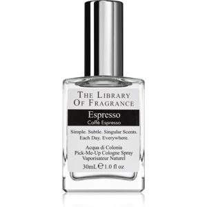 The Library of Fragrance Espresso kolínska voda unisex 30 ml