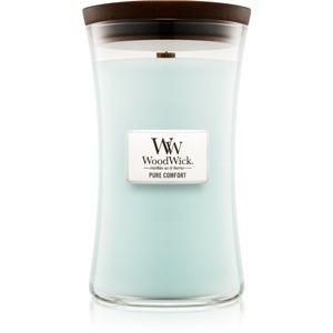 Woodwick Pure Comfort vonná sviečka s dreveným knotom 609,5 g