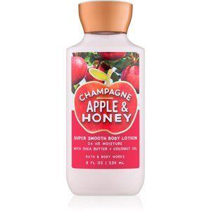 Bath & Body Works Champagne Apple & Honey telové mlieko pre ženy 236 m