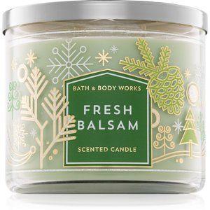 Bath & Body Works Fresh Balsam vonná sviečka 411 g III.