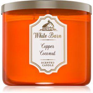 Bath & Body Works Copper Coconut vonná sviečka 411 g