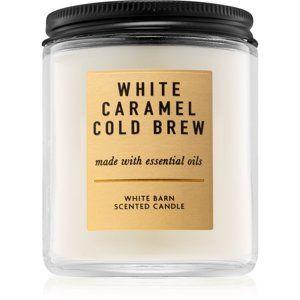 Bath & Body Works White Caramel Cold Brew vonná sviečka 198 g I.