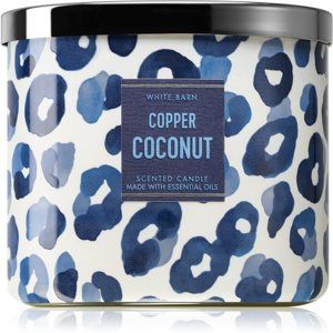 Bath & Body Works Copper Coconut vonná sviečka II. 411 g