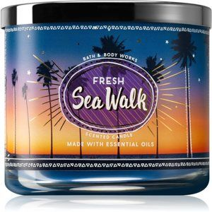 Bath & Body Works Fresh Sea Walk vonná sviečka 411 g