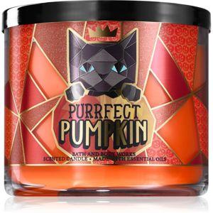 Bath & Body Works Purrfect Pumpkin vonná sviečka 411 g