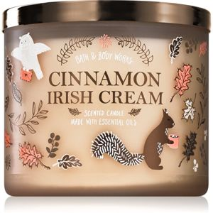 Bath & Body Works Cinnamon Irish Cream vonná sviečka 411 g