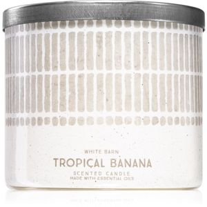 Bath & Body Works Tropical Banana vonná sviečka 411 g