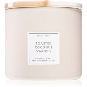 Bath & Body Works Toasted Coconut S´mores vonná sviečka 411 g