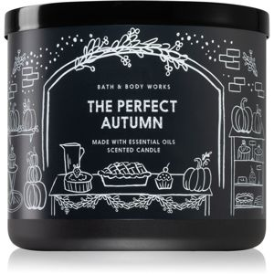 Bath & Body Works The Perfect Autumn vonná sviečka I. 411 g