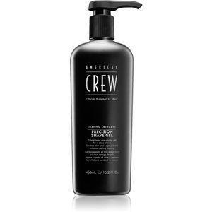 American Crew Shave & Beard Precision Shave Gel gél na holenie pre citlivú pleť 450 ml