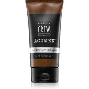American Crew Acumen exfoliačná čistiaca emulzia pre mužov 150 ml
