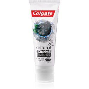 Colgate Natural Extract Charcoal + White bieliaca zubná pasta s aktívn
