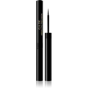 GA-DE Absolute Precision precízna tekutá očná linka vodeodolná odtieň 01 Black 1,7 ml