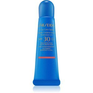 Shiseido Sun Care UV Lip Color Splash lesk na pery SPF 30 odtieň Uluru Red 10 ml