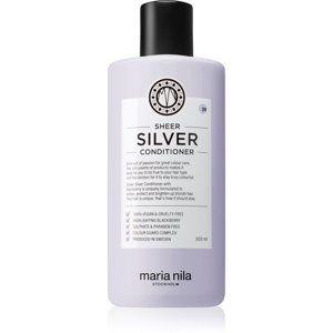 Maria Nila Sheer Silver hydratačný kondicionér neutralizujúci žlté tóny bez sulfátov 300 ml
