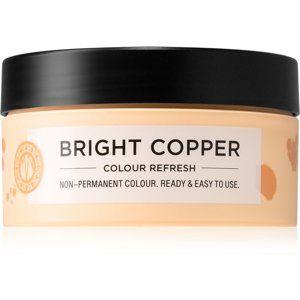 Maria Nila Colour Refresh Bright Copper jemná vyživujúca maska bez permanentných farebných pigmentov výdrž 4 – 10 umytí 7.40 100 ml