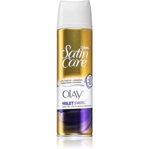 Gillette Satin Care Olay Violet Swirl gél na holenie pre ženy 200 ml