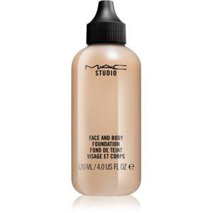 MAC Studio ľahký make-up na tvár a telo veľké balenie C5 120 ml